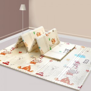 XPE/EPE baby educational playmat/folding mat