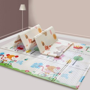 eco friendly folding XPE foam baby play mat with best quality