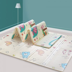 safty XPE nontoxic cartoon kids baby play creeping mat
