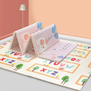 Baby Crawling Mat Game Play Pad, Non-Toxic Non-Slip Waterproof Blanket
