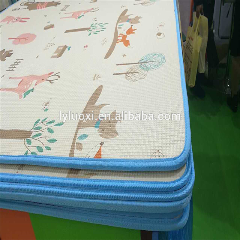 8 Year Exporter Shape Foam Floor Mat -