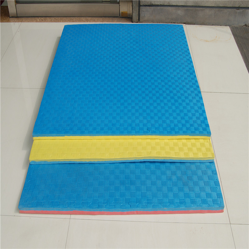 factory customized Wood Grain Foam Mat -