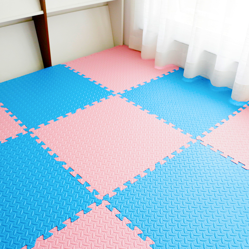Puzzle Exercise Mat with EVA Foam Interlocking Tiles (Protective Flooring) – Perfect for Home Gym, Aerobic, Yoga & Pilates