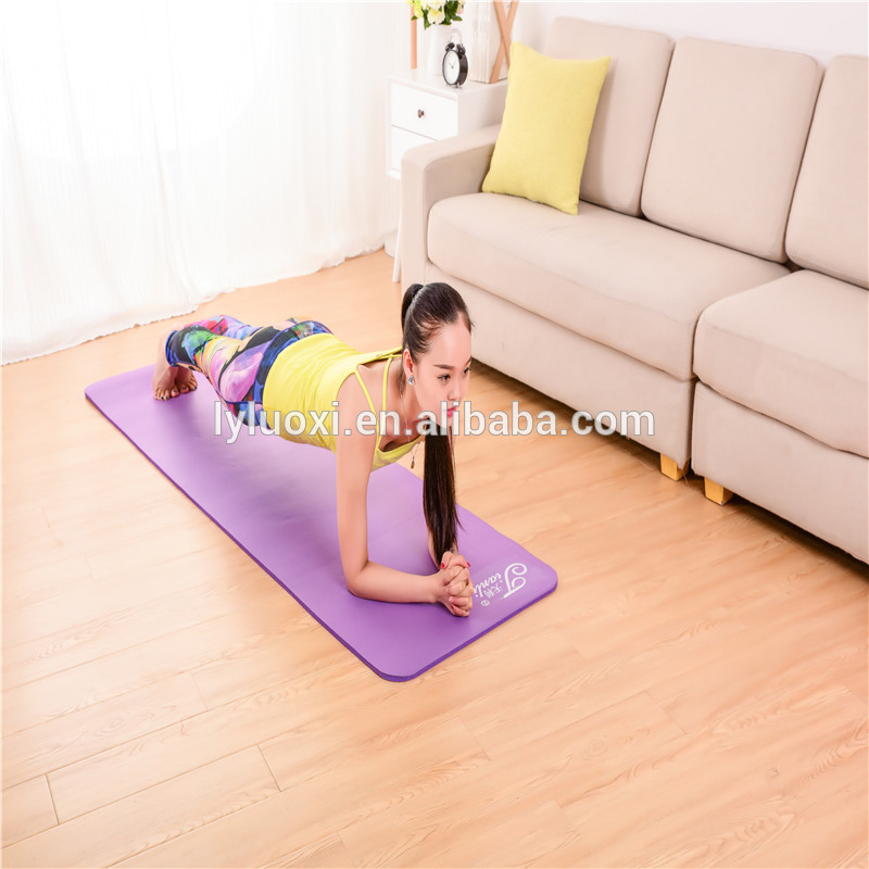 Factory Customized Custom Eco Friendly Antislip Natural Rubber / Cork Yoga Mat