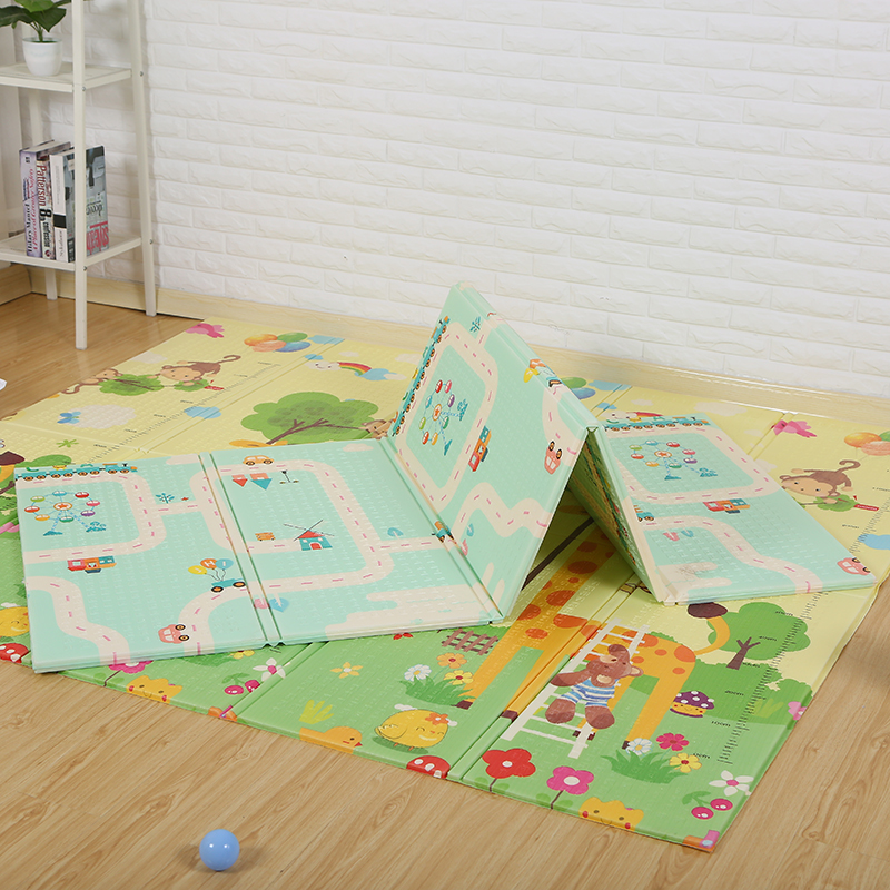 Fold slippery can roll many patterns epe/xpe play mats