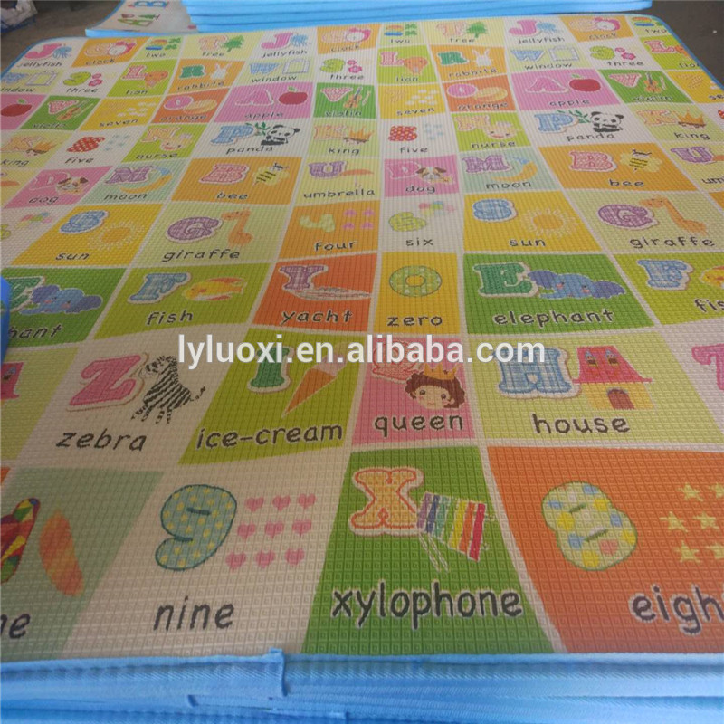 China Cheap price Rainbow Style Baby Play Mat -