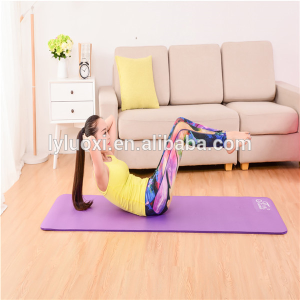 Wholesale Best selling Popular OEM Custom Personalized Home Gym Fitness Equipment Exercise PVC Yoga mat