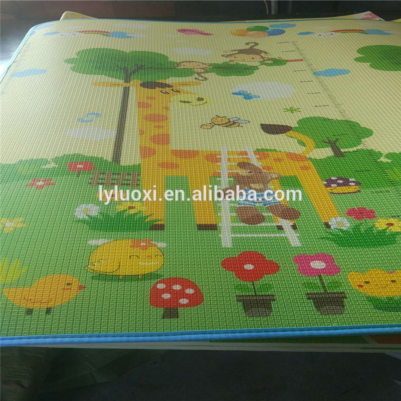 Non-Toxic Non-Slip Eco Friendly Baby Care xpe Play Gym Mat