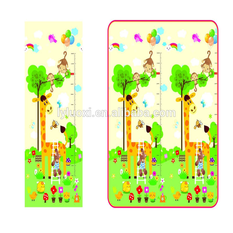 BABY CARE Large Baby Play Mat in Birds in Trees