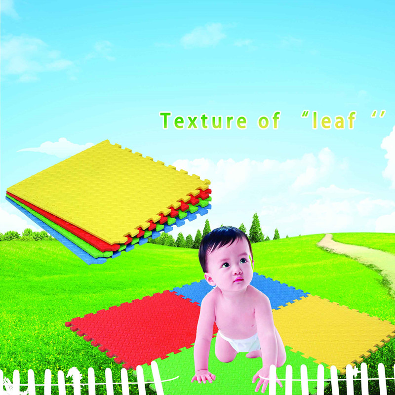 Factory making Kids Soft Foam Play Bricks -