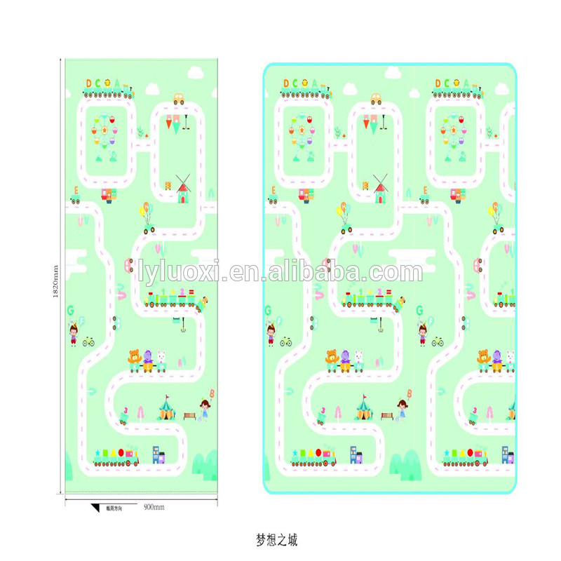 Chinese Professional Kids Puzzle Foam Mat -