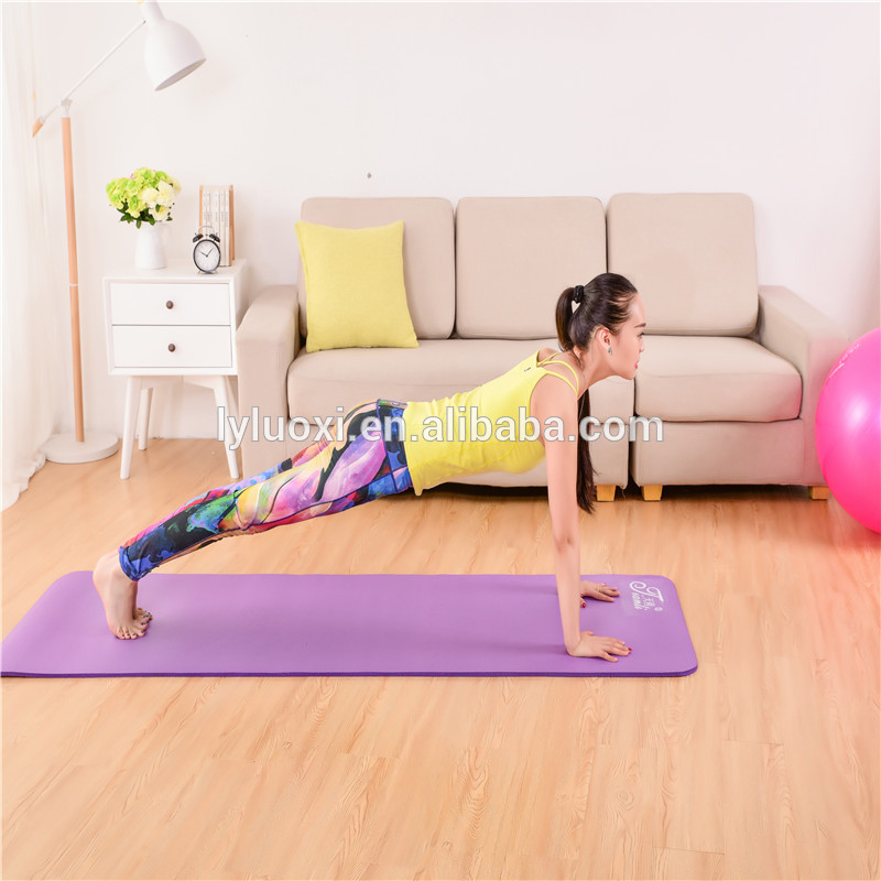 Special Design for China Custom Eco Friendly Digital Printed TPE Suede Yoga Mat