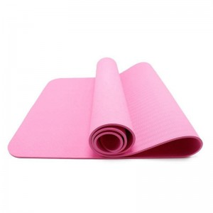 Best Price on China Yoga Mat Premium Logo Luxury Yoga Mat High Density Waterproof 1mm Supplier