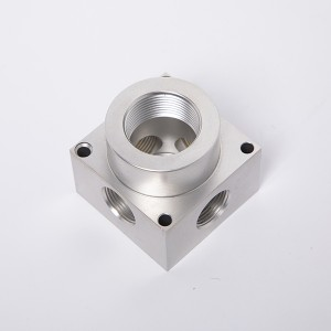 Aluminum Valve Block With Anodization