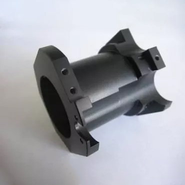 Factory directly supply Cnc Turning Parts - Black Anodized Aluminum Turned Parts – ETCN