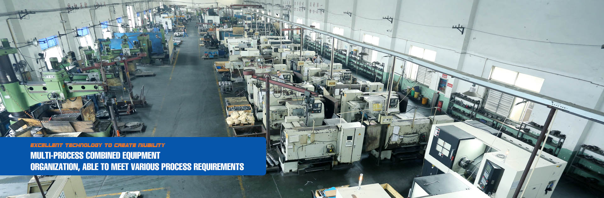 Multi-process combined equipment organization, able to meet various process requirements