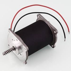 Massager motor, Ø52mm PMDC motor, ZYT-52SR-50-1