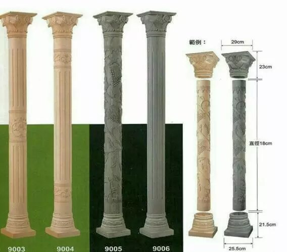 The Representative of Elegant–Roman Column/ Marble Pillar