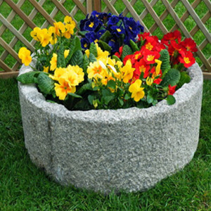 Cheap price cobble stone  planter flower pot