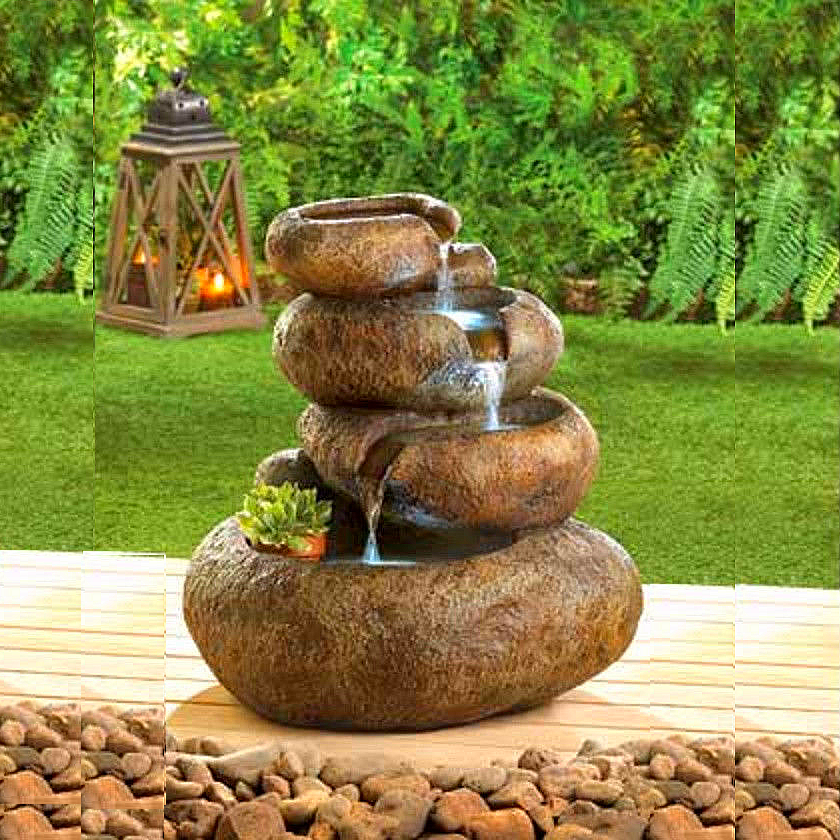 Well-designed Lion Head Marble Fountain -