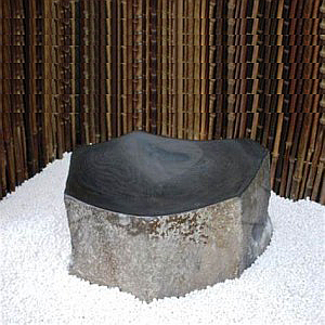 Basalt stone washing sink for sale