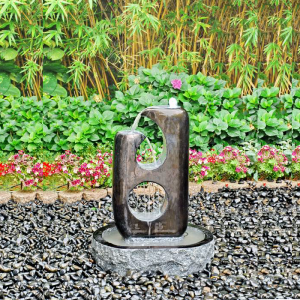 Outdoor Decorative Stone Garden Water Fountains for sale