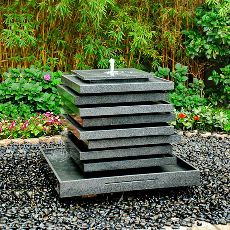 Residential modern outdoor ornamental garden water fountains for sale Featured Image