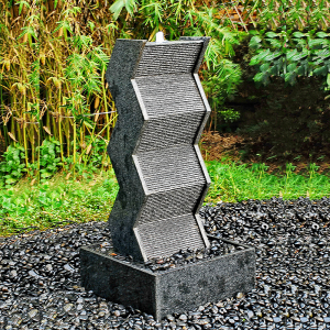 Contemporary garden wall Water fountains features for sale