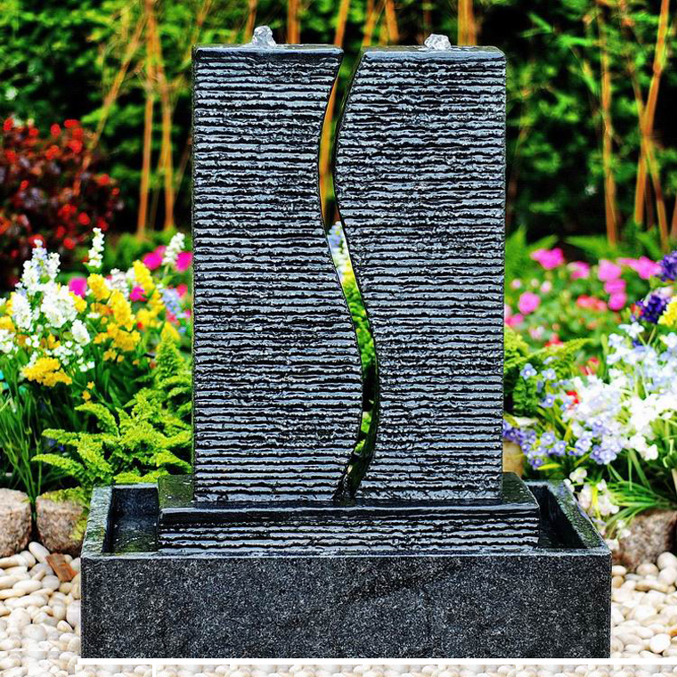 OEM manufacturer River Pebble Stone - Patio water features fountains for home garden – Magic Stone