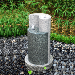 Chinese style Granite Stone waterfall Water fountain Outdoor