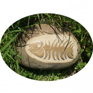 Fishbone shape Intagio from xiamen supplier
