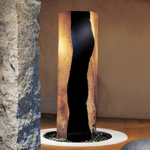 Basalt column landscaping stone for outdoor decor