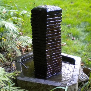 Basalt column water fountain for sale