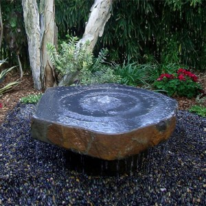 Basalt dish, polished bowls & Dome fountains