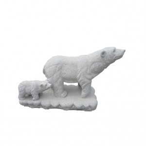 Best-Selling Faux Stone Panels - Life size bear stone sculpture – Magic Stone