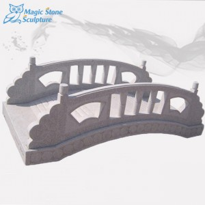 Stone bridge for garden decor