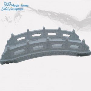 Cheap marble stone garden bridge