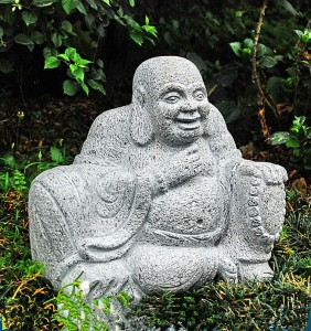 factory low price Massage Stone Set - Outdoor large laughing stone buddha statues – Magic Stone