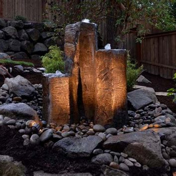 Factory making Garden Pebbles -