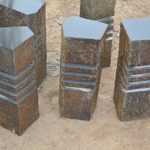 PriceList for Basalt Pillar - Xiamen supplier chiseled basalt lights – Magic Stone