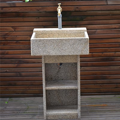 8 Year Exporter Granite Water Fountain Feature -