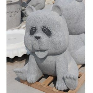 Hot Selling for Pebble Stone - High quality marble stone panda statue – Magic Stone