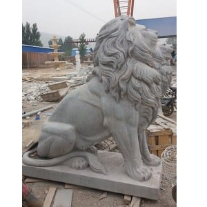 100% Original Buddha Statue - Life size sitting lion statue – Magic Stone