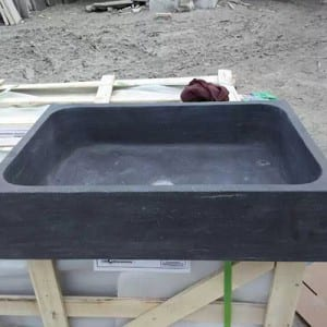 Factory source Water Features - Vessel limestone sinks countertops for bathroom decor – Magic Stone