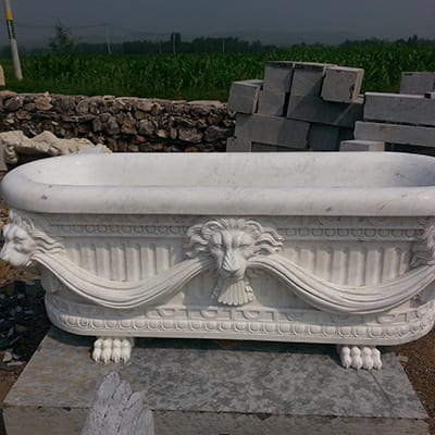China wholesale Marble Bathtub -