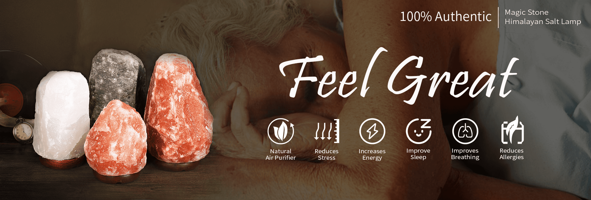 Himalayan Salt Lamp - Magic Stone (1)