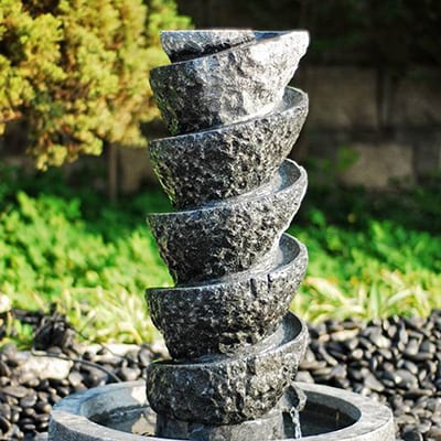 Top Quality Natural Stone Coaster Set -