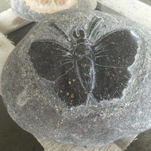 High Performance Cultural Stone - Natural stone carved butterfly figurines – Magic Stone