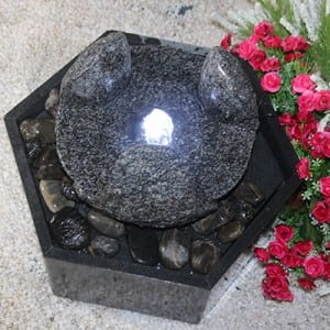 OEM manufacturer River Pebble Stone - Backyard granite stone fountains and waterfalls – Magic Stone