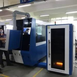MK4020Q-Täiesti kinnised Metal Laser Cutting Machine